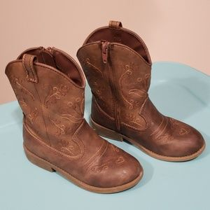 Girl cowgirl cowboy boots